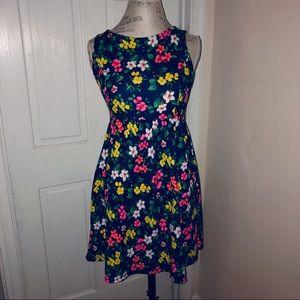 Monteau floral dress